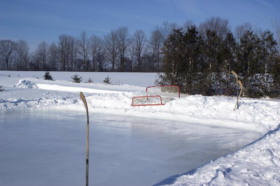 Rink Liners and Backyard Skating Rink Tarps | 12′ Liner